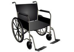 Wheelchair Stock Illustration