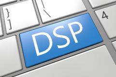 Demand side platform Stock Illustration
