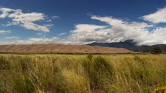Tranquil High Definition Footage at Great Sand Dunes National Park Stock Footage