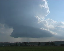 Rotating storm timelapse Stock Footage