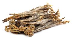 Dried fish of bombay duck Stock Photos