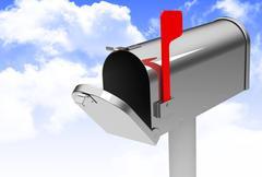 the mailbox - stock illustration