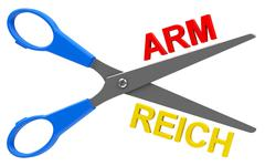 Arm or reich Stock Illustration