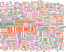 Stock Illustration of retirement