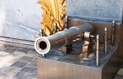 Antique firearms. Stock Photos