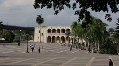 Alcazar De Colon, Santo Domingo Stock Footage