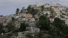 Barrio in Santo Domingo - stock footage