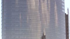 Unicredit skyscraper MIlan Stock Footage
