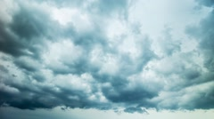 Storm clouds, time-lapse Stock Footage