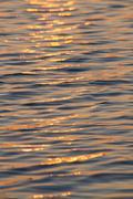 Sunrise on Water - stock photo