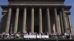 St George Hall - Liverpool Stock Footage
