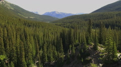 Canada Alberta Valley of the Ten Peaks s Stock Footage