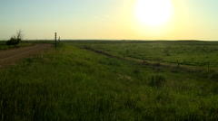 Western Kansas Summer Stock Footage