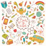 Stock Illustration of Back to school
