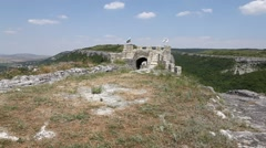 Vintage fort in Verna Bulgaria Stock Footage