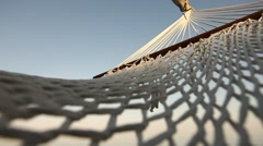 Hammock Summer Net Stock Footage