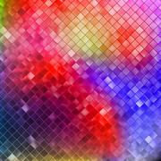Blue glitters on a soft blurred background. EPS 10 Stock Illustration