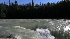 British Columbia Fraser River Rearguard Falls Stock Footage