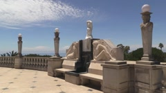 Hearst Castle The Neptune Pool Stock Footage