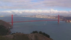 Golden Gate National Recreation Area Timelapse Stock Footage