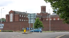 Reading Prison, Europe, England, Great Britain Stock Footage