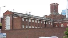 Reading Prison Chapel Britain, England, UK, Europe Stock Footage