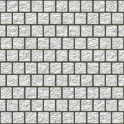 Stock Illustration of White glazed tiles seamless generated hires texture