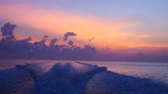 Stock Video Footage of Sunrise Fishing