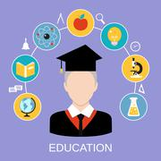 Stock Illustration of Education Concept