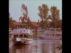 80th Germany civil Shipping Stock Footage