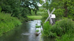 Model Wind Mill by Stream Stock Footage