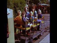 80th Germany Child Train Stock Footage