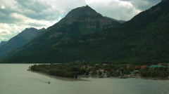 Waterton Town Center in Timelapse Stock Footage