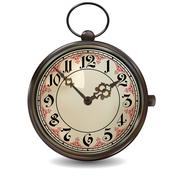 Stock Illustration of Rusty Pocket Watch