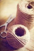 twine cord - stock photo