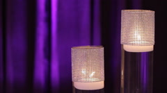 Velvet Room | Lounge Ambiance | Floating Candles - stock footage