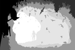 Bat cave Piirros