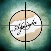 Stock Illustration of agenda target