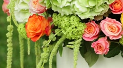 Flower bouquet Stock Footage