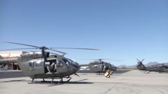 UH-72 Lakota Helicopter Training Stock Footage