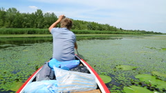 Canoeing Stock Footage