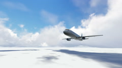 Stock Video Footage of airplane