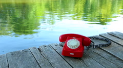 Phone Call Stock Footage