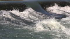 Arkansas Mammoth Spring water detail  Stock Footage