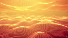 Abstract orange background Loop Stock Footage