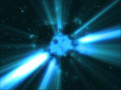 particles of the sun 4K - stock footage