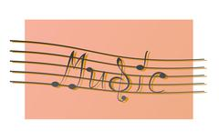 Stock Illustration of music