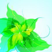EPS10 flower background Stock Illustration