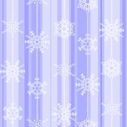 Flake winter seamless pattern Stock Illustration