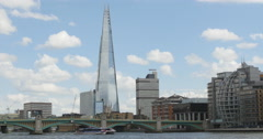 Shard London Bridge 4k Stock Footage